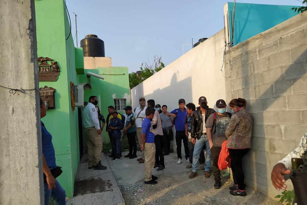 Rescatan a grupo de centroamericanos en Reynosa