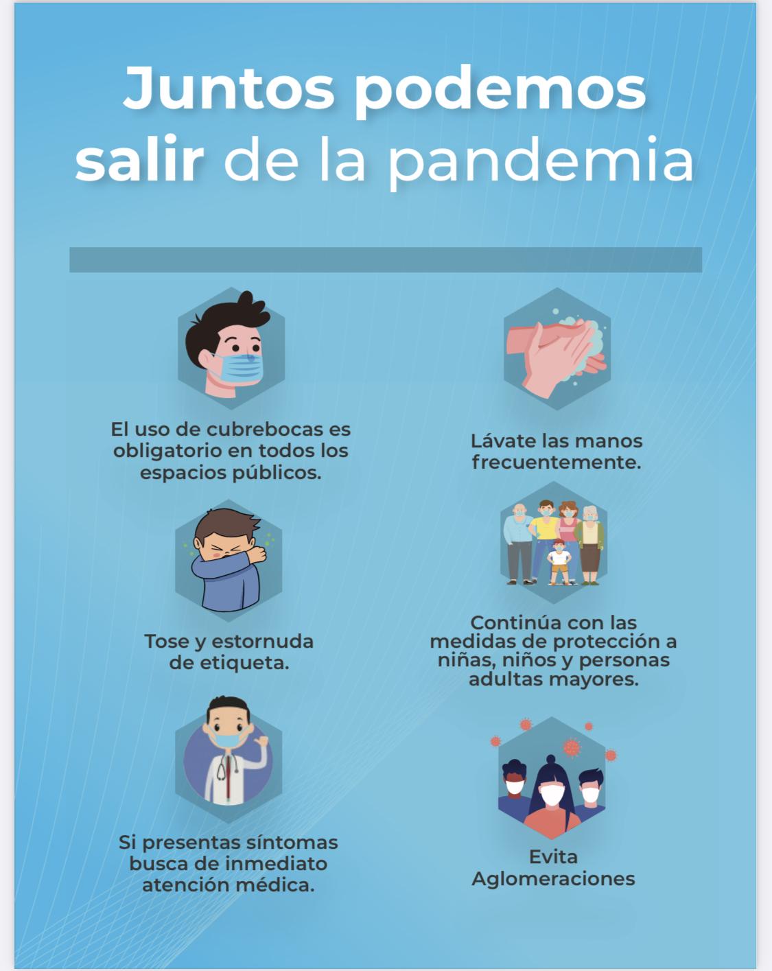 Juntos Podemos salir de la Pandemia