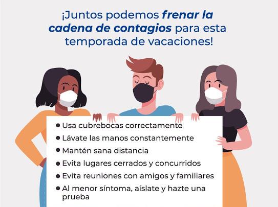 Juntos Podemps frenar la cadena de contagios
