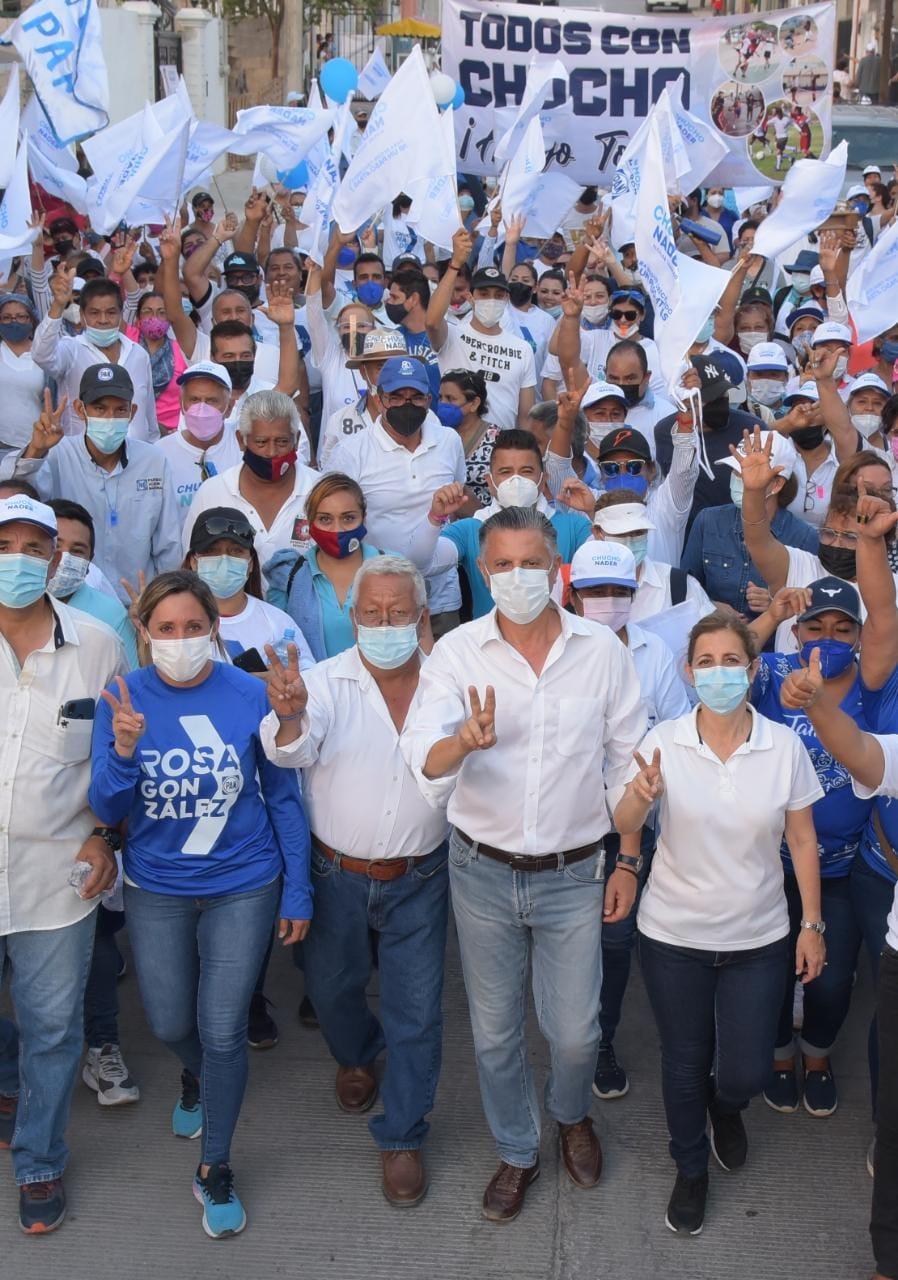 La Borreguera ya Decidió: Chucho Nader Presidente