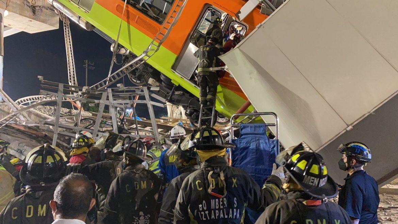 Son 23 los muertos por colapso del Metro