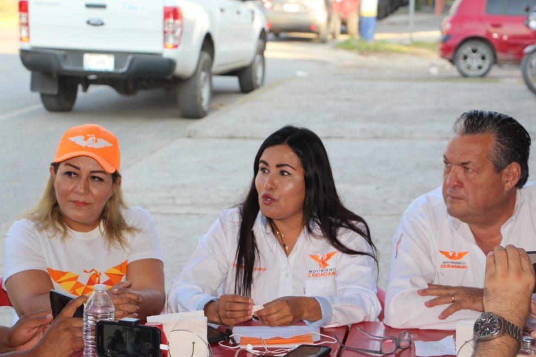 Crece la ola naranja en Tamaulipas