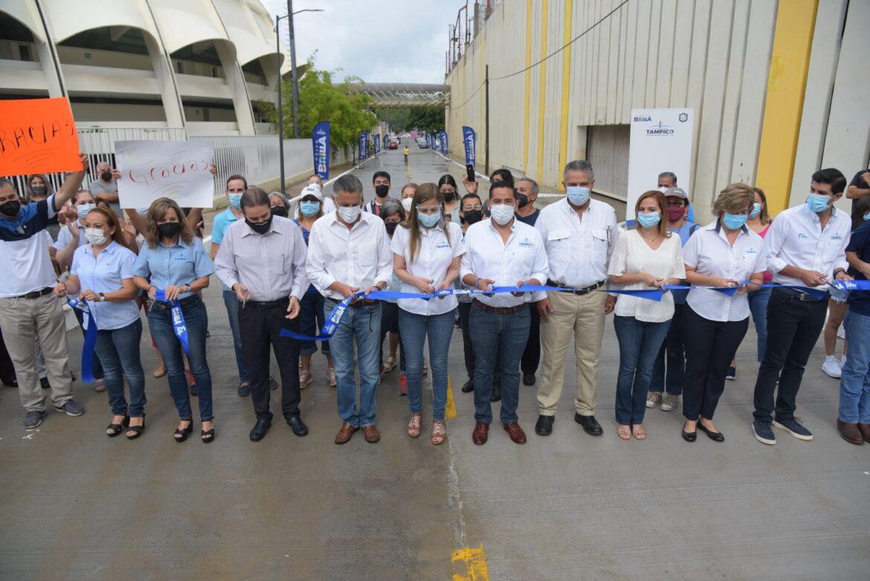 Con Más Pavimentación Tampico se Transforma: Chucho Nader
