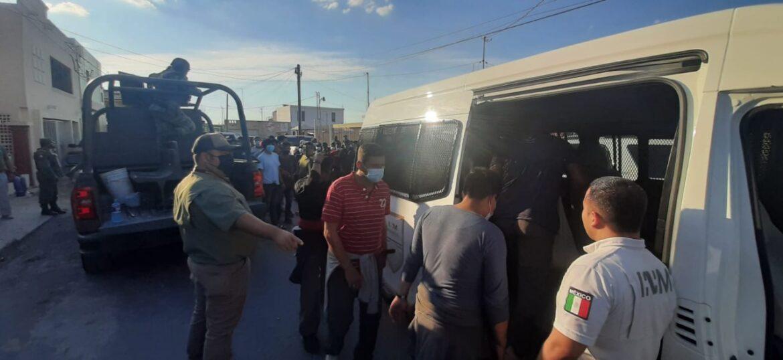 Rescatan a 116  centroamericanos