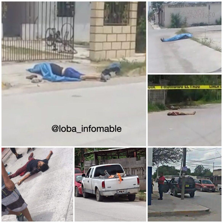 Hay 14 muertos en Reynosa
