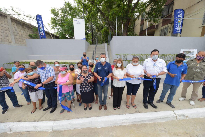 Se Recuperan y Modernizan Más Espacios Públicos en Tampico