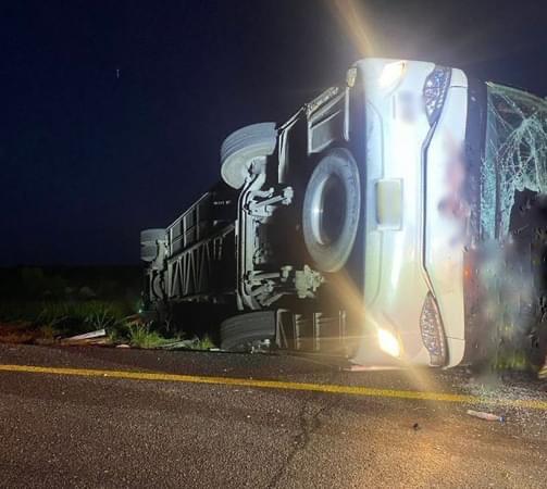 Autobús iba a Exceso de velocidad: 8 muertos