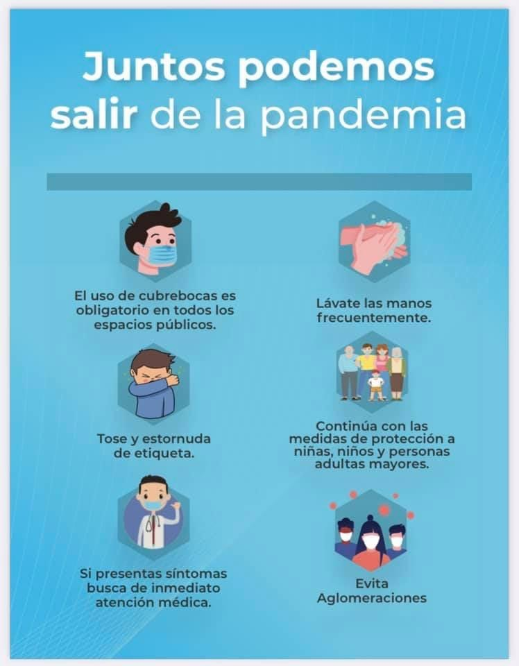 """""""Juntos Podemos salir de la Pandemia"""""""