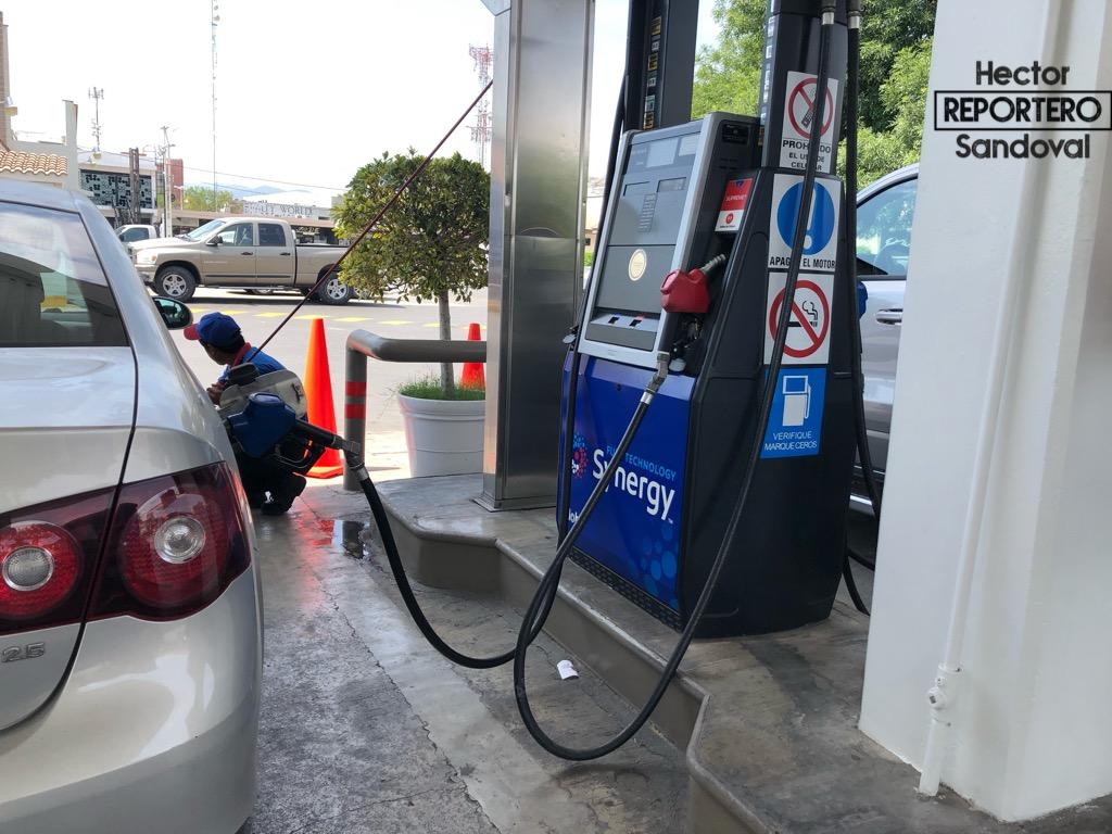 Imparable aumento a gasolinas