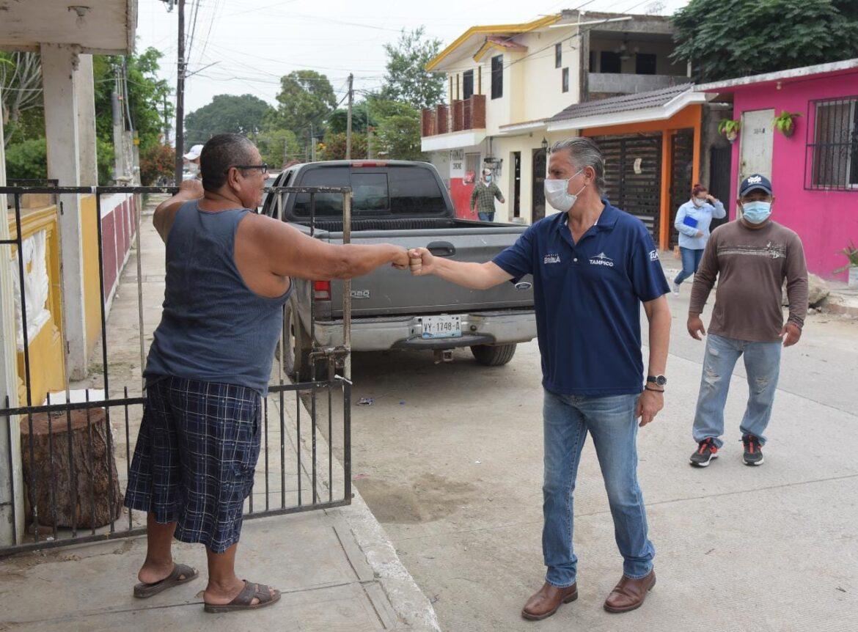 Encabeza Chucho Nader Nuevas Jornadas de Limpieza en Tampico