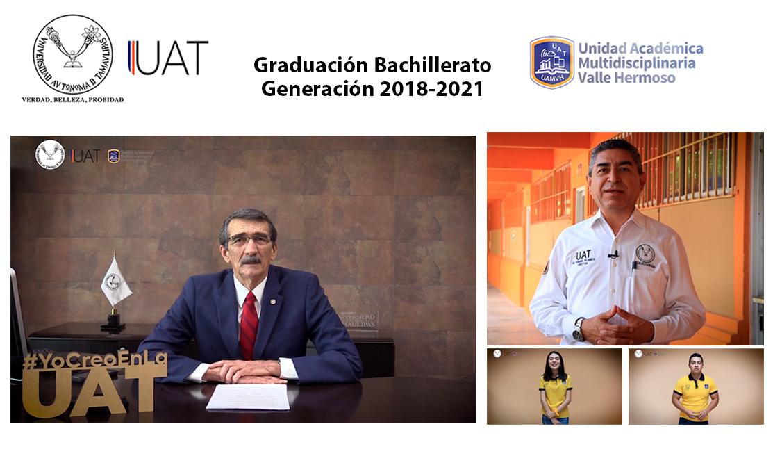 Entrega la UAT en Valle Hermoso una nueva generación de egresados de bachillerato