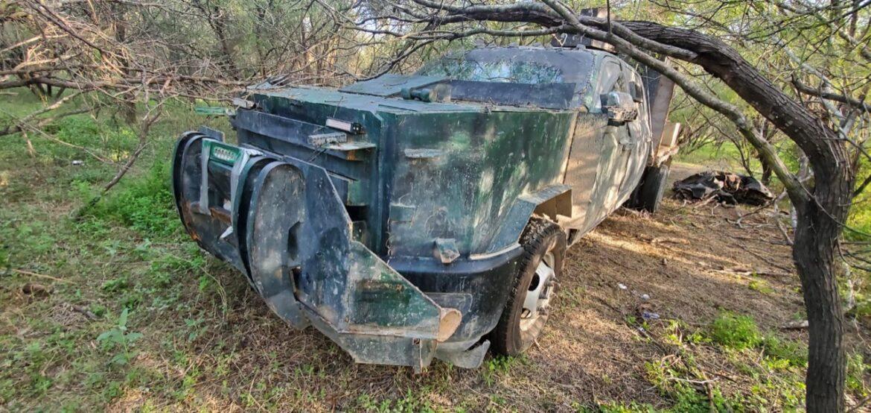 Aseguran Gopes dos autos blindados