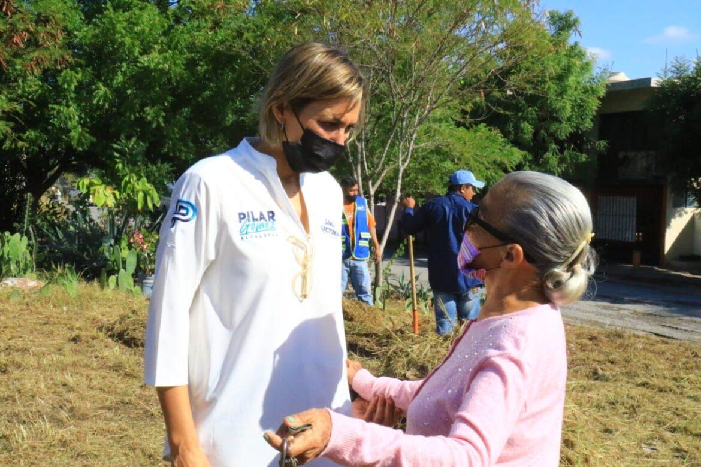 Rehabilita municipio pavimento en Colonia Américo Villarreal