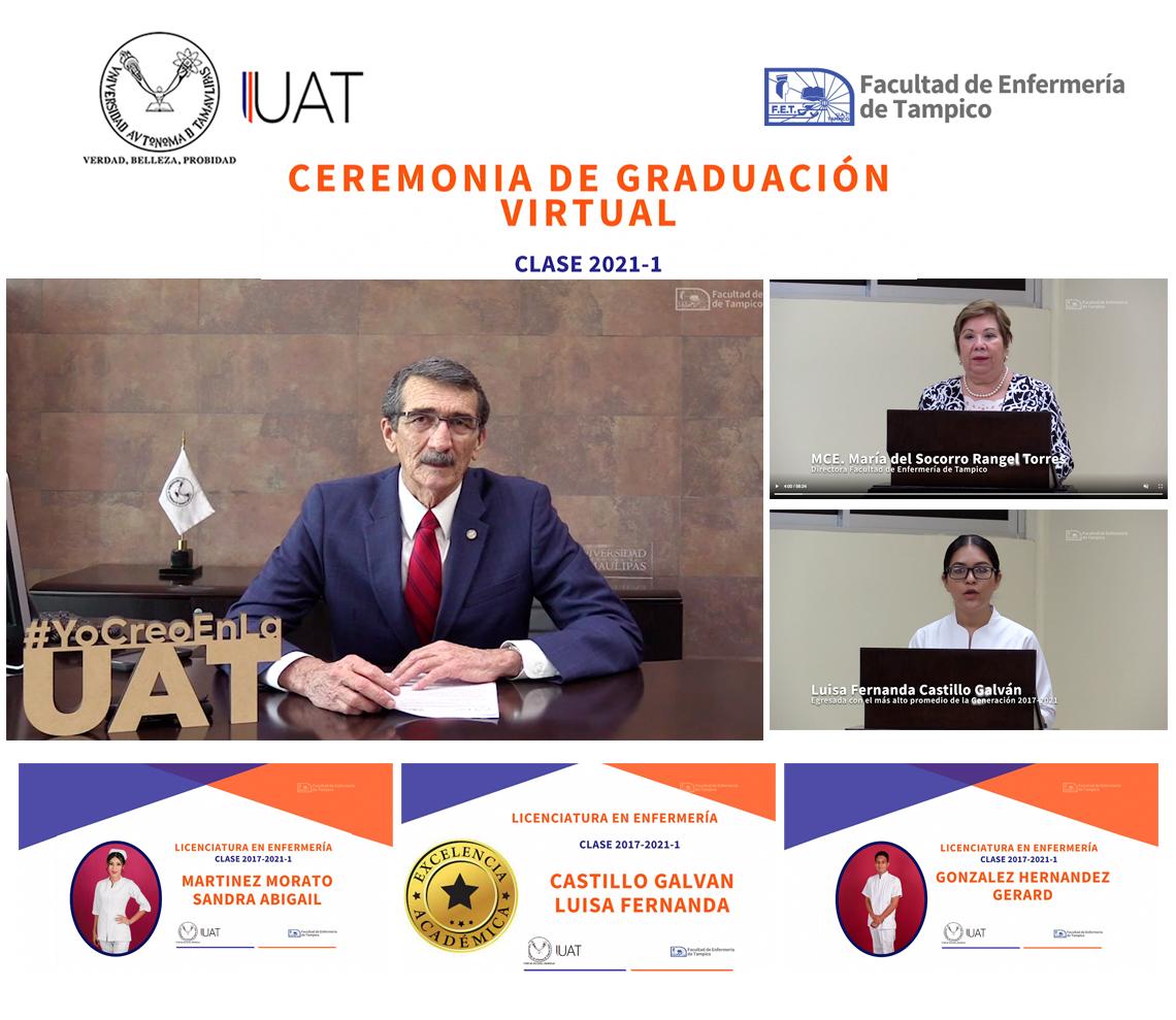 Entrega UAT nueva generación de la Facultad de Enfermería de Tampico