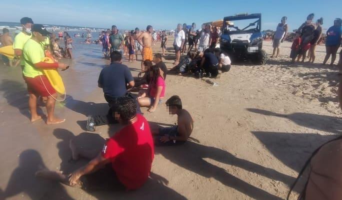 Brinda PC 45 atenciones en playa durante el domingo