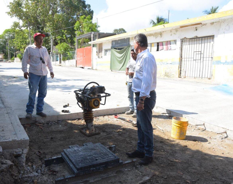Reitera Chucho transparencia en Obra Pública