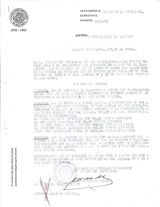 Denuncian a gobierno de Río Bravo por despojo