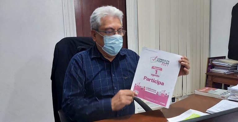 Invita Morena a participar en consulta ciudadana