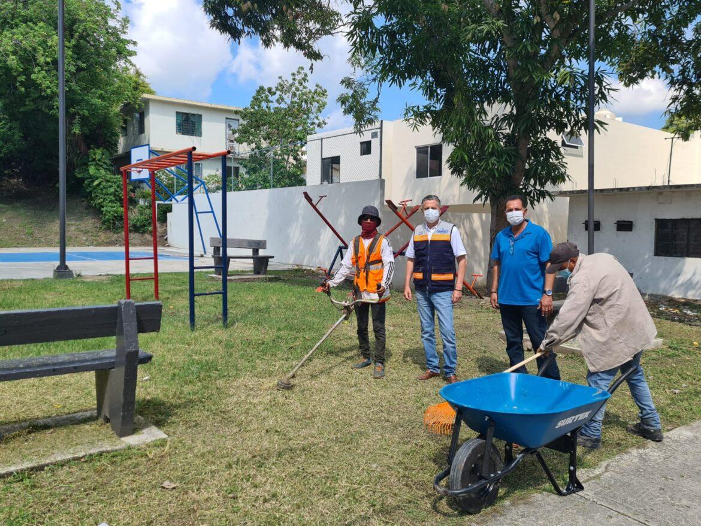 Fortalece Chucho Nader Acciones de Limpieza y Mejoramiento Urbano