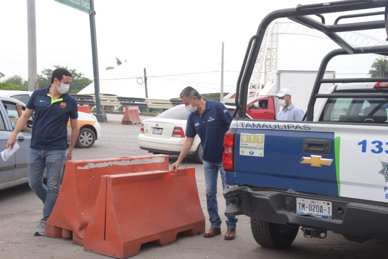 Fortalecerán la Seguridad en los Accesos a Tampico