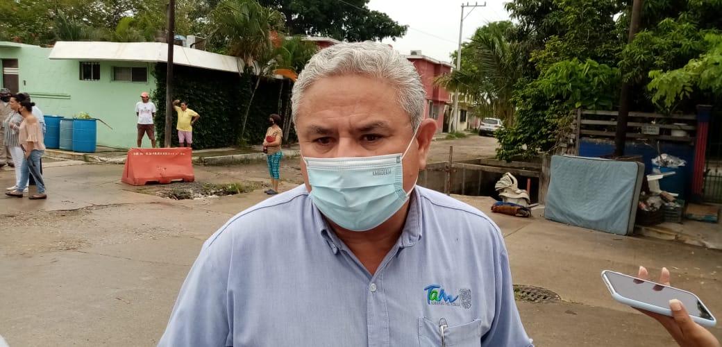 En Tampico se roban hasta las alcantarillas