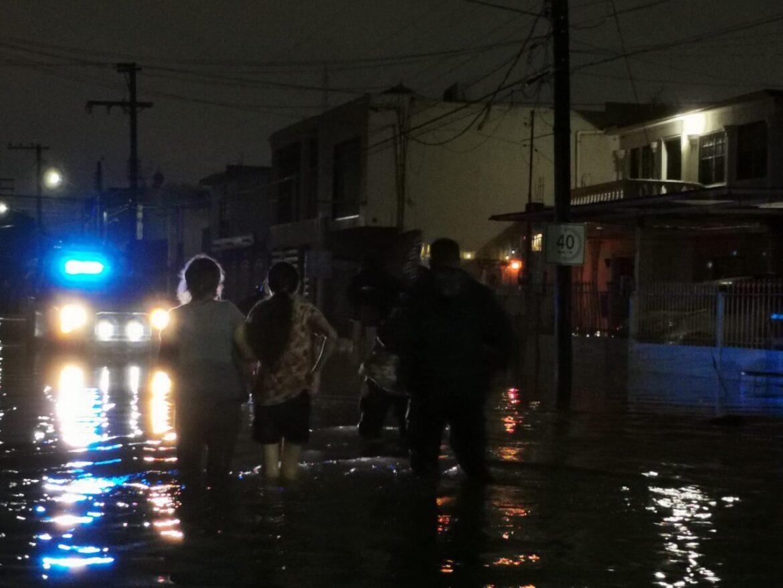 Operativo de Rescate de Policia Estatal en Matamoros