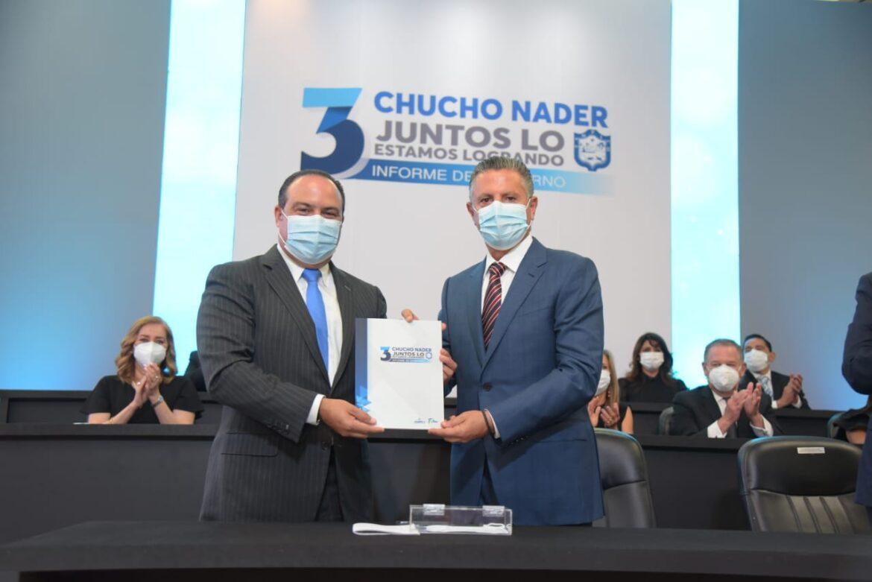 Que Brille Tampico, Que Brille Tamaulipas: Chucho Nader