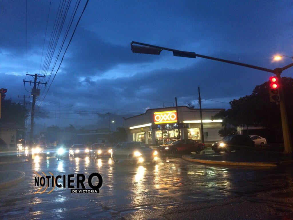 Pronóstico de lluvia y granizo en Tamaulipas y NL