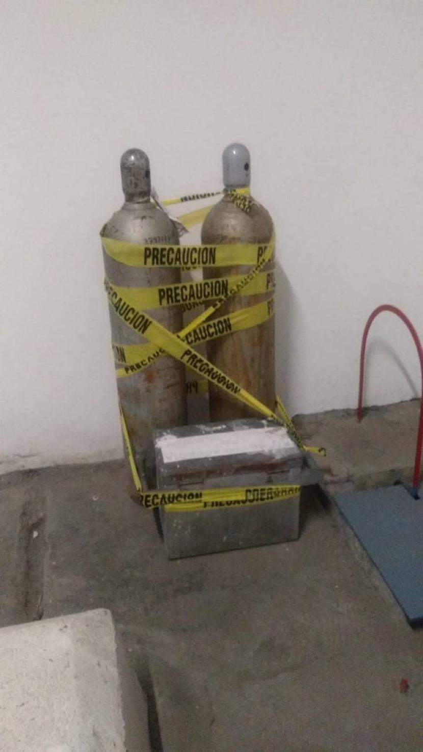 Aparecen tanques tóxicos: Hay un detenido
