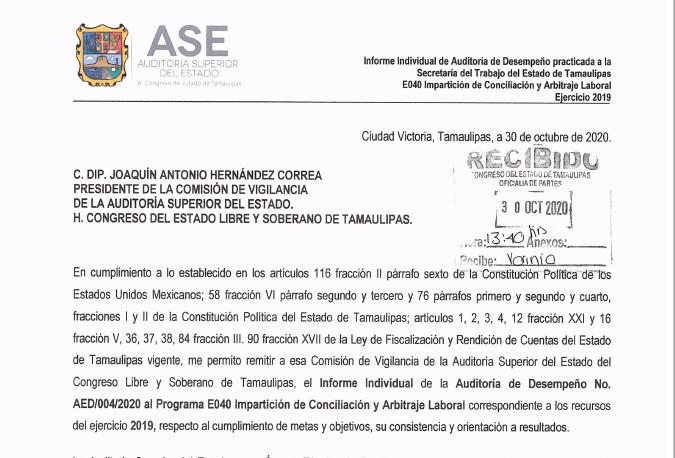 Reprueba ASE a las Juntas de Conciliación