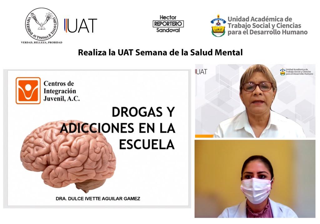Realiza la UAT Semana de la Salud Mental