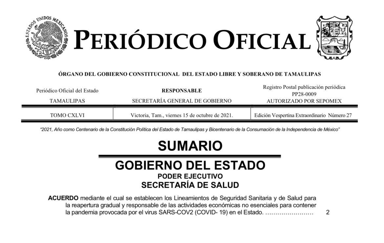 Termina Tamaulipas  la Ley Seca y abre conciertos